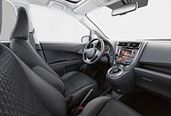 Toyota Verso-S - Cockpit