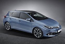 Toyota Auris - Front-Seitenansicht