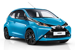 Toyota Aygo X-Cite - Frontansicht