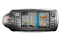 Toyota Yaris - Navigationssystem