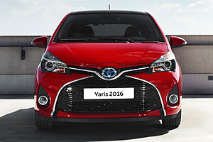 Toyota Yaris - Frontansicht