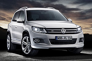VW Tiguan R-Line - Frontansicht