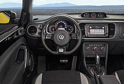 VW Beetle GSR - Sicht aufs Cockpit