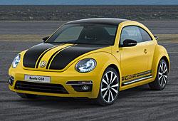 VW Beetle GSR: Kennzeichen: Gelb-schwarze Lackierung
