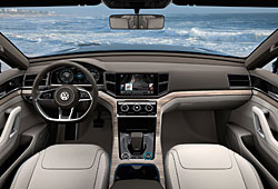 VW Cross Blue Cockpit