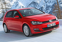 VW Golf 4Motion Frontansicht
