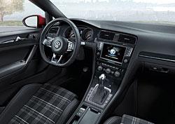 VW Golf GTD - Innenraum