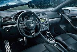 VW Golf R Cabriolet - Innenraum