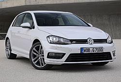 VW Golf R-Line - Außenansicht