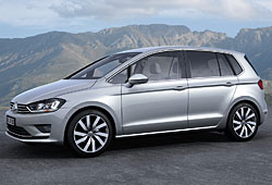 VW Golf Sportsvan - Seitenansicht