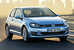 VW Golf TDI Blue Motion - Frontansicht