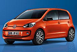 VW groove up! - Außenansicht
