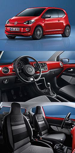 VW cheer up! - Außenansicht - Cockpit - Sitz