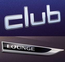 VW Club- und Lounge-Emblem