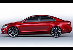 VW New Midsize Coupé - Seitenansicht
