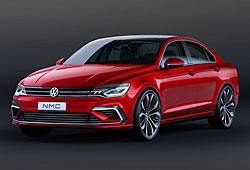 VW New Midsize Coupé - Frontansicht