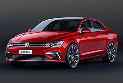 VW New Midsize Coupé - Frontansicht
