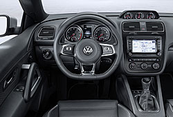 VW Scirocco - Cockpit