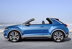 VW T-Roc - Seitenansicht