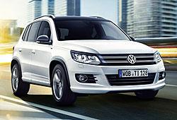 VW Tiguan City Scape
