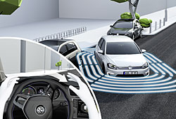VW Golf - Park Assist