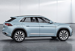 VW Cross Coupé GTE - Seitenansicht