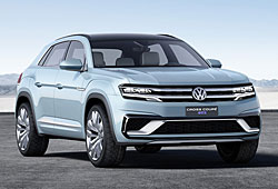 VW Cross Coupé GTE - Frontansicht
