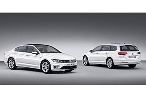 VW Passat GTE Limousine und Variant