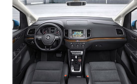 VW Sharan - Cockpit