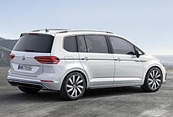 VW Touran - seitliche Heckansicht