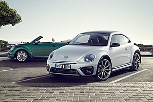 VW Beetle und Beelte Cabriolet - Modelljahr 2017