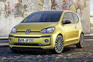 VW up! - Außenansicht