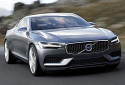 Volvo Concept Coupé - Frontansicht