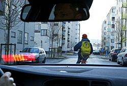 Volvo - Notbremsassistent mit Radfahrererkennung