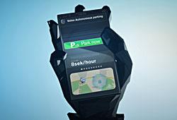 Volvo - App für autonomes Parken