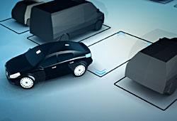 Volvo - Auto parkt selbsttätig ein