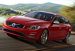 Volvo V60 R-Design - Farbe Passion Red