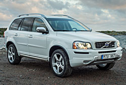 Volvo XC90 Edition Pro in Polar Weiß
