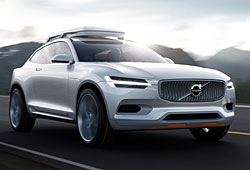Volvo Concept XC Coupe - Frontansicht
