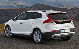 Volvo V40 Cross Country - Heckansicht