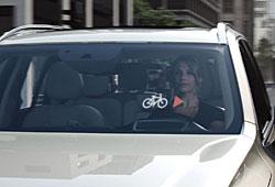 Volvo - Kommunikation zwischen Auto und Fahrrad