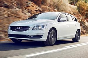 Volvo V60 Linje Svart, Außenfarbe Crystal-Weiß-Perleffekt