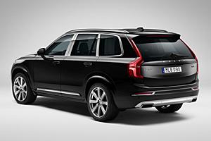 Volvo XC90 Excellence - Heckansicht