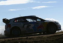 WRC 2013 Argentinien - Ogier/Ingrassia im VW Polo R WRC