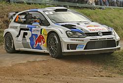WRC 2013 Frankreich - Ogier und Ingrassia auf dem Weg zum WM-Titel