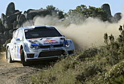 WRC 2013 Utalien - Ogier/Ingrassia in Aktion