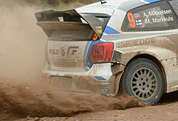 WRC 2014 - Rallye Argentinien - Andreas Mikkelsen