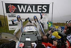 WRC 2014 - Rallye Großbritannien: Ogier/Ingrassia triumphieren in Wales
