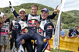 WRC 2015 - Rallye Deutschland - Dreifach-Erfolg für Volkswagen