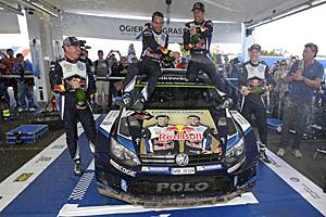 WRC 2015 - Rallye Australien - Ogier/Ingrassia holen dritten WM-Titel in Folge